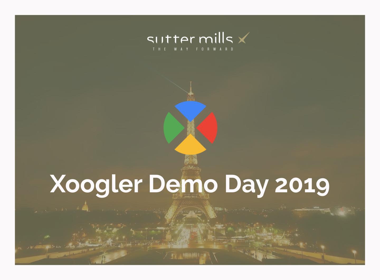Sutter Mills et JCDecaux réunissent investisseurs et start-ups pour le  1er Xoogler Demo Day d'Europe continentale