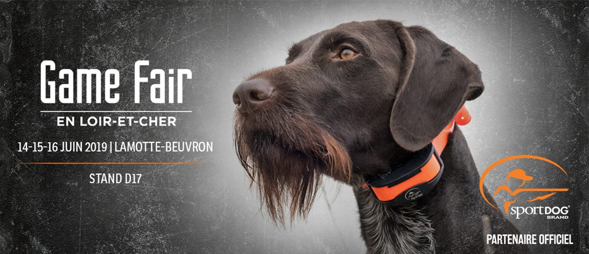 SPORTDOG®, partenaire officiel du Game Fair 2019