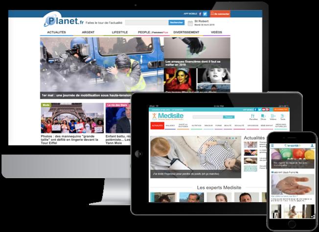 Planetmedia confie à Digiteka le déploiement de la stratégie vidéo online de sa régie Planet Advertising
