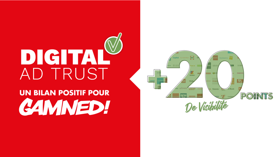 Digital Ad Trust : un bilan positif pour Gamned!
