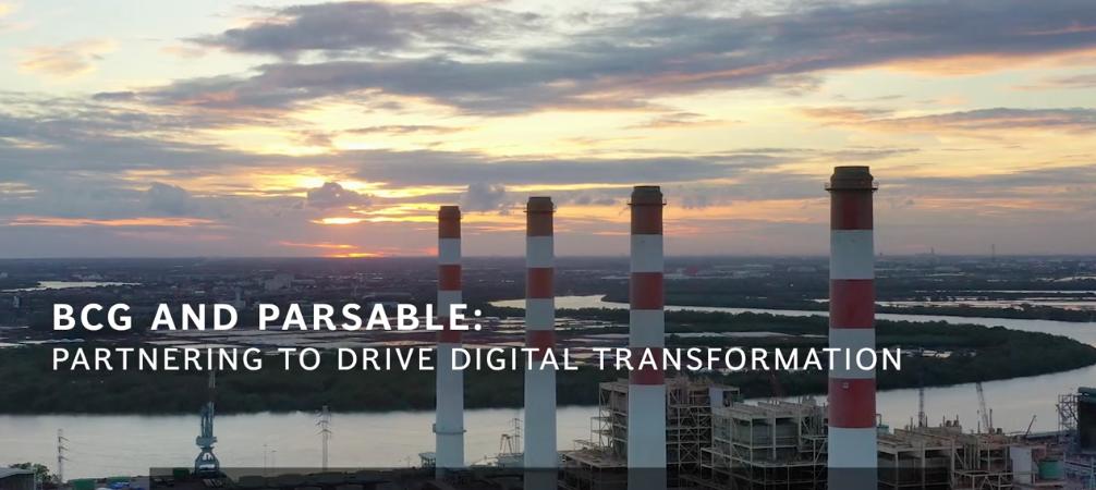 BCG et Parsable s'allient pour accélérer la transformation numérique des entreprises industrielles